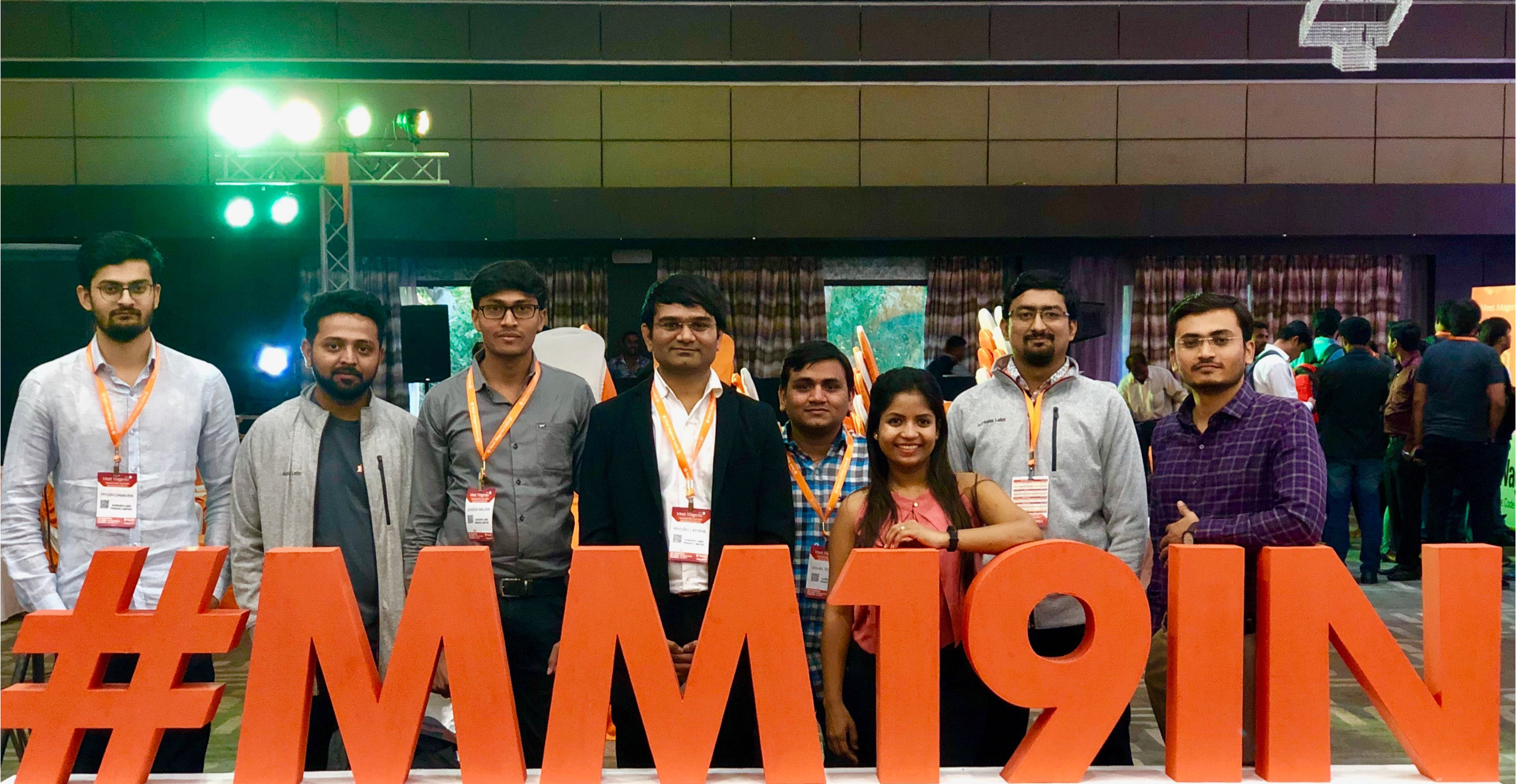 Aureate Family at Meet Magento 2019 India